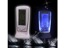 Modern Digital Alarm Clock Unique phone Calendar Thermometer Backlight LED Screen Digital Alarm Clock Desktop Clock PTSP