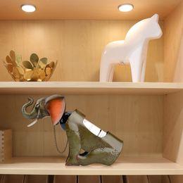 Wholesale TOOARTS Elephant wine shelf Metal sculpture Practical sculpture Home decoration Interior decoration Crafts Super Gift Choice A016