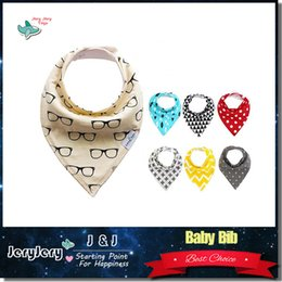 Wholesale Baby Waterproof Bib Cotton Double Layer Styles Cartoon Cute Burp Cloth Boy Girls Newborn Baby Bibs With Retail Package