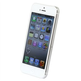 pouce 1gb Promotion Original iPhone5 Dual Core 4.0 pouces 1 Go RAM 16 Go / 32 Go ROM Apple iPhone5 Caméra 8MP Fingerprint Refurbished Unlocked Cellphone