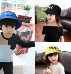 Children hat han edition of the new baby's personality of private 5 letters marca dragon color POTS caps, fisherman hat