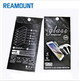 Retail Universal DIY Custom Tempered Glass Screen Packaging Box for iphone 7 7plus