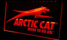Wholesale LS166 r Arctic Cat Snowmobiles Neon Light Sign jpg