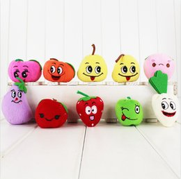 Wholesale 10pcs set Lovely Christmas Finger Puppets Fruit Finger Toys Felt Boards Baby Hand Puppet Toy Finger Puppets EMS