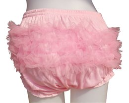 Wholesale Adult Baby Ruffle Panties Bloomers incontinence Diaper Cover FMP03 M L
