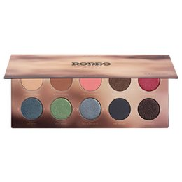 ZOEVA Foundation Eye Makeup Rodeo Belle Palette 10 Colors NUDE Smoky Palette Waterproof Matte Eyes Makeup Bset Eyeshadow Palettes