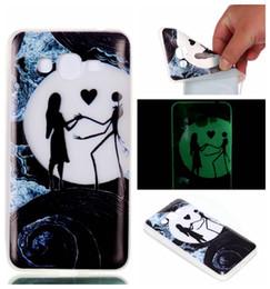 Luminous Soft TPU Case For Galaxy J2 Prime J5 LG K8 2017 X Power Moto G5 PLUS Huawei P10 Lite Cartoon Skull Deer Dandelion Skin Cover 120pcs