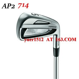 Wholesale Golf AP2 Forged Irons Set P With Golf Aldila VS Proto T Graphite Shaft or Steel Shaft AP2 Clubs