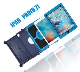 Hot For Apple Ipad Air Ipad Pro 2 3 4 5 6 Rugged Hybrid Defender Cases,Shockproof Durable Tough Armor Protective Shell Skin for iPAD 2 3 4