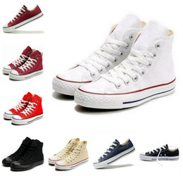 2016 HOT New 13 Color All Size 35-45 sports stars chuck Classic Canvas Shoe Sneakers Men's Women's Canvas Shoes