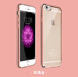 Wholesale Nature TPU Phone Case for iPhone 6 6 Plus Transparent Clear Soft TPU Protector Phone Case for iPhone 7
