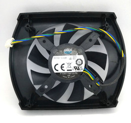 New Original CoolerMaster FY08015M12LPA FY08015M12BAA DC12V 0.45A GTX650Ti Graphics cards cooling fan