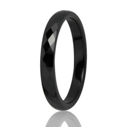Fashion 3 mm ,6 mm Wide Men Women White Black Ceramic Ring Comfort Fit Multi Engagement Brand Ceramic Jewelry