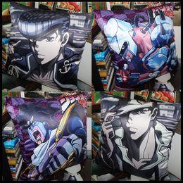 Anime JoJo's Bizarre Adventure Higashikata Josuke Kujo Jotaro soft and comfortable Cushion pillow daily supplies present