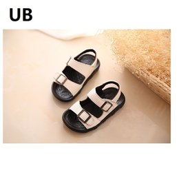 Wholesale 2017 UUBB children shoes male leather Eva Store Brand New high quality new link drop shipping