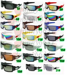 Wholesale MOQ SUMMER cycling sports dazzling eyeglasses fashion sunglasses women men reflective coating sun glasses colors