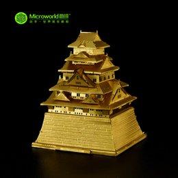Wholesale Microworld D Metal Puzzle South Korea Hwaseong Architectural Building Model J009 G DIY D Laser Cut Assemble Toys
