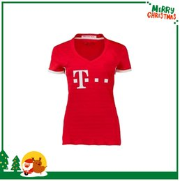 Wholesale women Bayern jerseys VIDAL COATA LEWANDOWSKI MULLER ROBBEN GOTZE BOATENG ALABA shirt