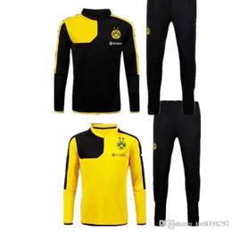 Wholesale Dortmund Training suit best thai quality Dott Jerseys jacket maillot de foot football shirts2017 football jerseys