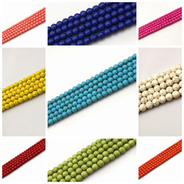 10mm Turquoise Loose Beads For DIY 11 Colors For Choice Free Shipping Wholesale Pack of 200pcs