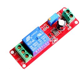 Wholesale New DC V Power Relay Module Adjust Second Time Delay Switch NE555 High Quality
