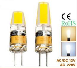 G4 LED Lamp Mini COB G4 Bulb 5W 9W AC DC 12V 220V LED Light Replace Halogen Chandelier Lamps Lampadas LED COB Bulb 360 Angle