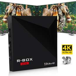 Wholesale Quad Core RK3229 Mini R box Android Box GB GB Android5 Streaming Media Player support K Ultra HD Digital TV Box