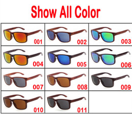 Wholesale 2017 New fashion Products Men Women Glass Bamboo Sunglasses Retro Vintage Wood Lens Wooden Frame Handmade