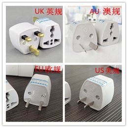 5PCS Lot US AU EU UK Travel Converter AC Power Plug Power Charger Adapter Power transfer Plug