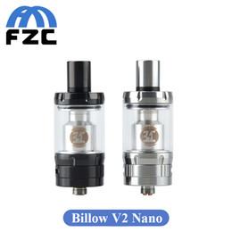 Acheter en ligne Billow v2-Vente en gros Ehpro Billow V2 Nano Atomiseur 3.2ml Boucle d'air réglable Billow V2 Nano RTA Atomiseur de réservoir 510 VS Vraiment V2 V3