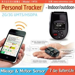Wholesale OLED LCD G GPS Personal Tracker Phone Data Logger SOS Call G Sensor