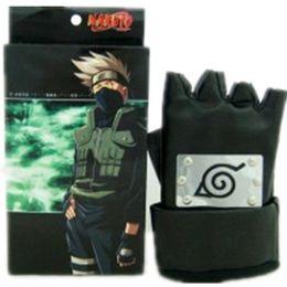 Hatake Kakashi cosplay accessories gloves Naruto Shippuden gloves Japanese anime Naruto gloves halloween Masquerade cosplay accessories
