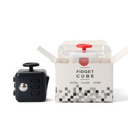 2017 New Fashion Cubes High quality Fashion Style Fidgeters Fidget Cube Toys Puzzles & Magic Cubes Anti Stress