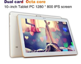 10 Inches Tablet 3G 4G IPS Screen Eight Core 4GB  32GB Android5.0 GPS Navigation Bluetooth Dual Card Call Tablet PC