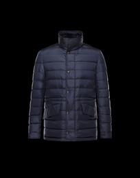 Франция человек для продажи-Зимняя куртка мужская вышивка бренд 2016 франция фирменный логотип M мужской белая утка пуховая куртка пальто классического стиля