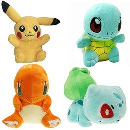 Poke go Jeu Poke Anime Pikachu 7 Poche de style différent Peluche Caractère Soft Toy Stuffed Animal Collectible Doll à partir de jeux anime vidéo fabricateur