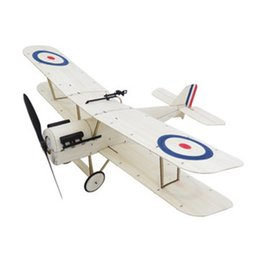 Wholesale Eachine S E a SE5a mm Wingspan Balsa Wood RC Airplane KIT DIY Remote Control Toys