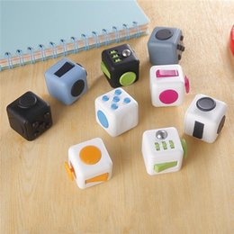 Wholesale 2016 Best Christmas Gift Desk Toy Magic Fidget Cube In Stock