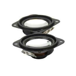 2Pcs 8Ohm 3W Mini Haut-parleurs Portable Spikes Tweeter Haut-parleur Audio Haut-parleurs pour appareils audio et vidéo à partir de terminal vidéo fabricateur