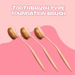Wholesale Convenient and practical do not eat powder plastic handle soft and soft bare toothbrush type brush brush