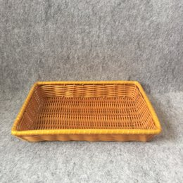 Wholesale Peasant rural living place to receive dish plate of fruit basket weaving restoring ancient ways the cane makes up sundry basket