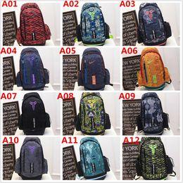 Brand Design Fashion KOBE Men Backpacks Basketball Bags Sport Backpack School Bag For Teenager Outdoor Backpack Marque Mochila