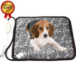 Wholesale Pet Dog Waterproof Electric Heating Mat Thermal Cat Warming Pad With Anti Bite Tube