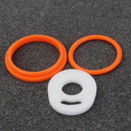 Wholesale Silicon O Ring Fit TFV8 Baby Tank Seal O rings Replacement Orings Set For Smoke TFV8 Baby Atomizer Best Price DHL Free