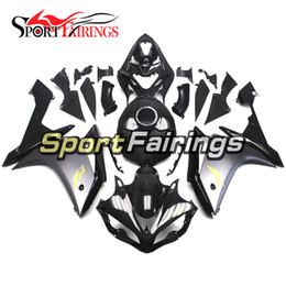 Injection ABS Fairings For Yamaha YZF R1 YZF-R1 07 08 2007 2008 Motorcycle Fairing Kit Bodywork Covers Carenes Grey Gold Decals Full Cover