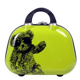 Wholesale New Small Bear Cosmetic Bag Women Men Casual travel bag multi functional Cosmetic Bags storage bag Makeup Handbag Size Inch