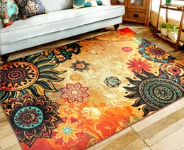 New fashion art carpet 100% polyester fiber style support for the living room bedroom bed   free delivery 8