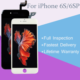 For iPhone 6S 6S Plus LCD Touch Screen Digitizer Assembly Replacement A+++ Quality Perfect 3D with Lifetime Warranty
