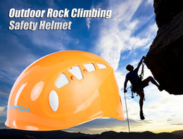 Wholesale XINDA Adjustable Outdoor Rock Climbing Helmet Mountaineering Safety Caving Rescue Wading Riding Downhill Hiking Helmet B