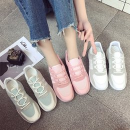 2016 New Special Offer Spring And Summer Leisure Shoes Pu 2017 Increased Wear Comfortable Breathable All-match White Shoe Stitching Students